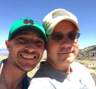 Meteor Crater Selfie